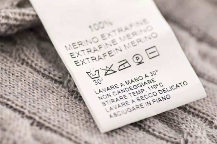 Σύμβολα στην Ετικέτα Φροντίδας Ρούχων ή Υφασμάτων