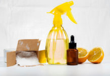 Φυσικά Καθαριστικά για τα Λίπη των Ντουλαπιών της Κουζίνας